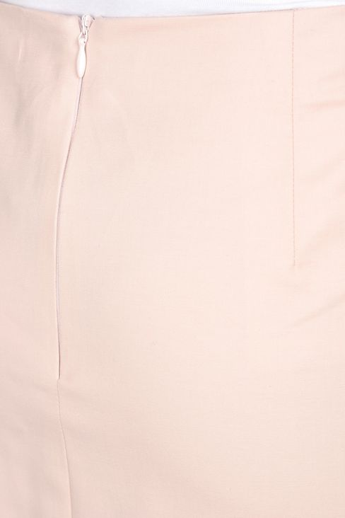 PENCIL SKIRT IN STRETCH COTTON: Knee length skirts Women by Armani - 4