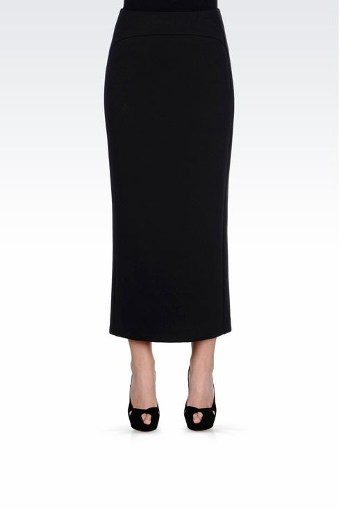 LONG JERSEY SKIRT: Long skirts Women by Armani - 3