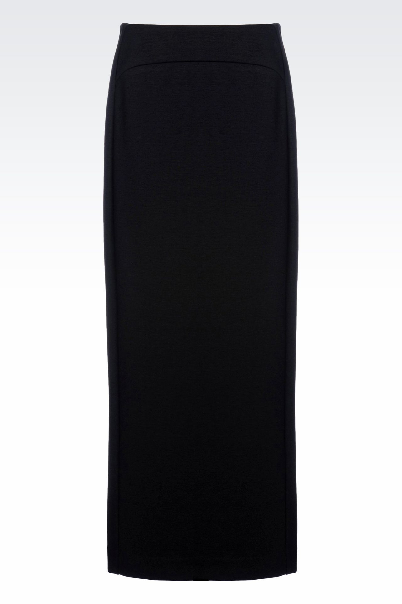 LONG JERSEY SKIRT: Long skirts Women by Armani - 0
