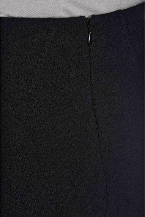 PENCIL SKIRT IN CRÊPE: Knee length skirts Women by Armani - 5