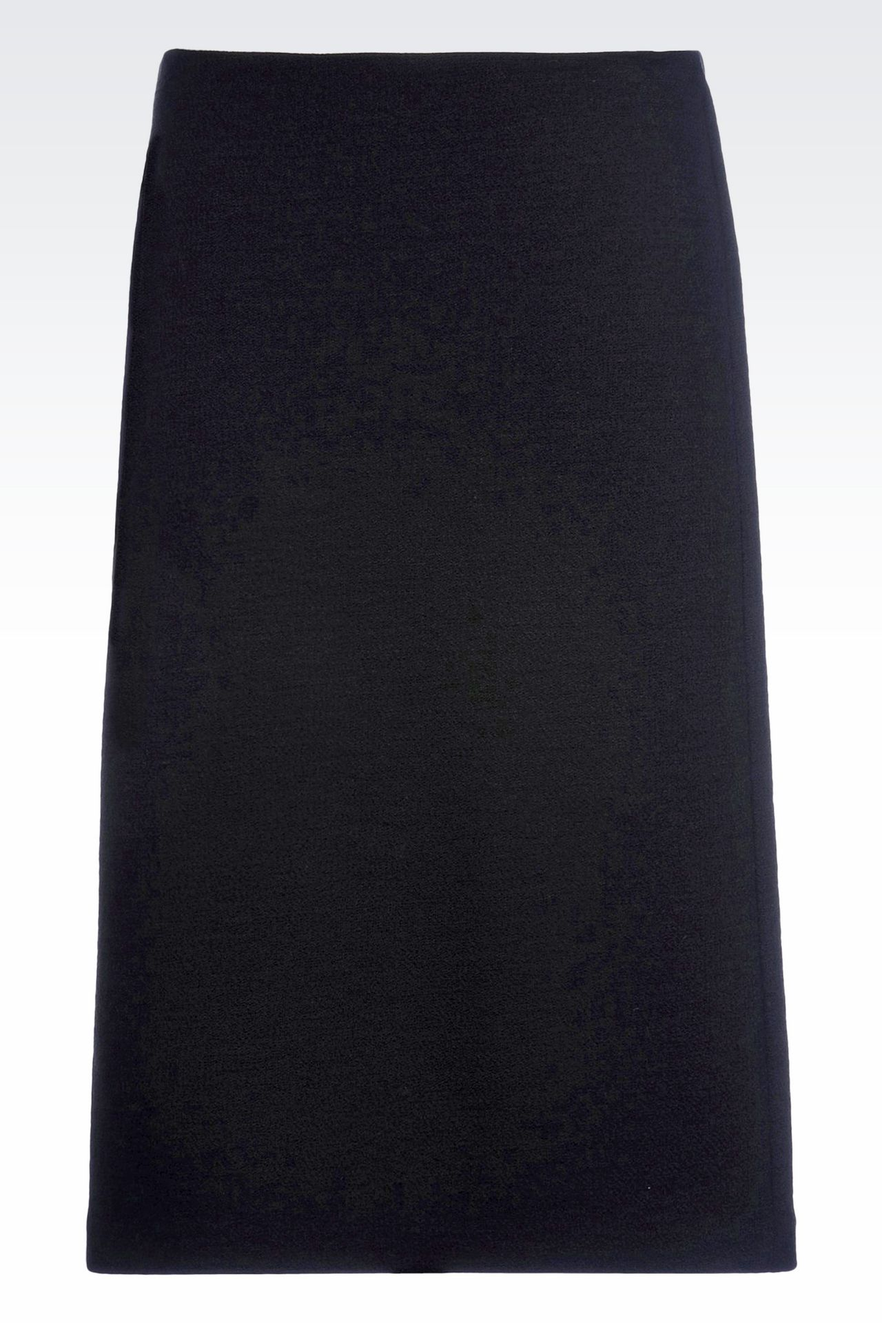 PENCIL SKIRT IN CRÊPE: Knee length skirts Women by Armani - 0