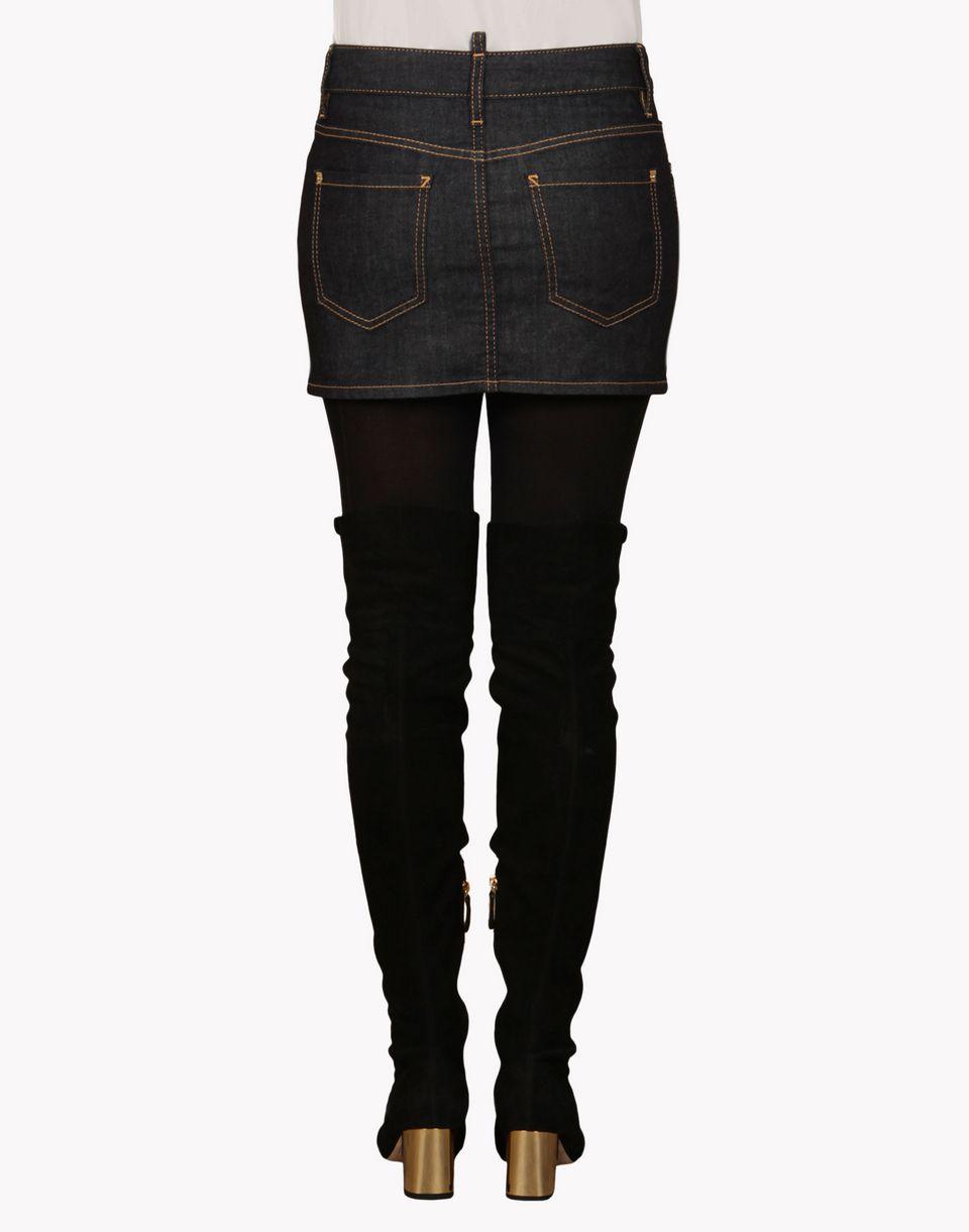 Dsquared2 Mini Denim Skirt, Denim Skirts Women - Dsquared2 Online ...