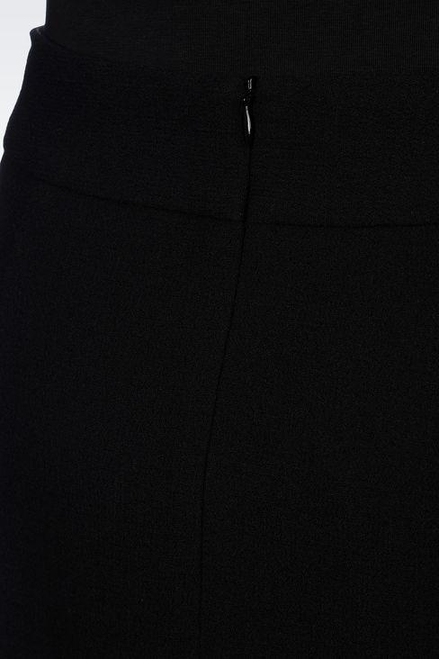 PENCIL SKIRT IN WOOL CRÊPE: Knee length skirts Women by Armani - 5