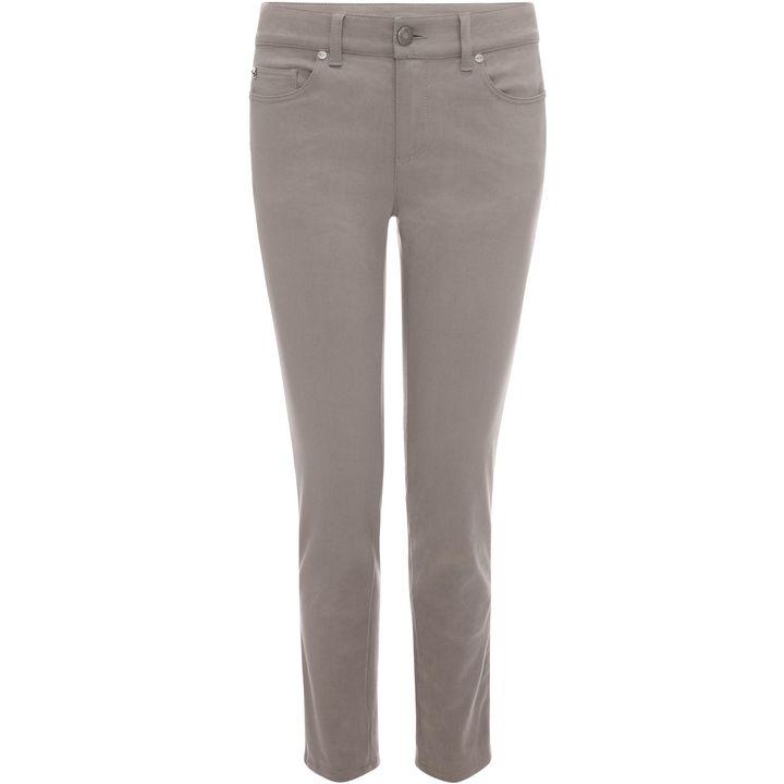 Alexander McQueen, Cropped Denim Trousers
