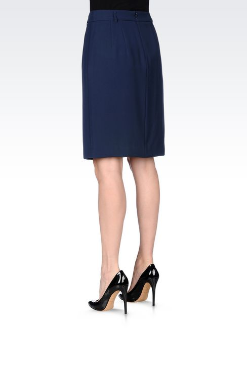 CADY SKIRT: Knee length skirts Women by Armani - 4