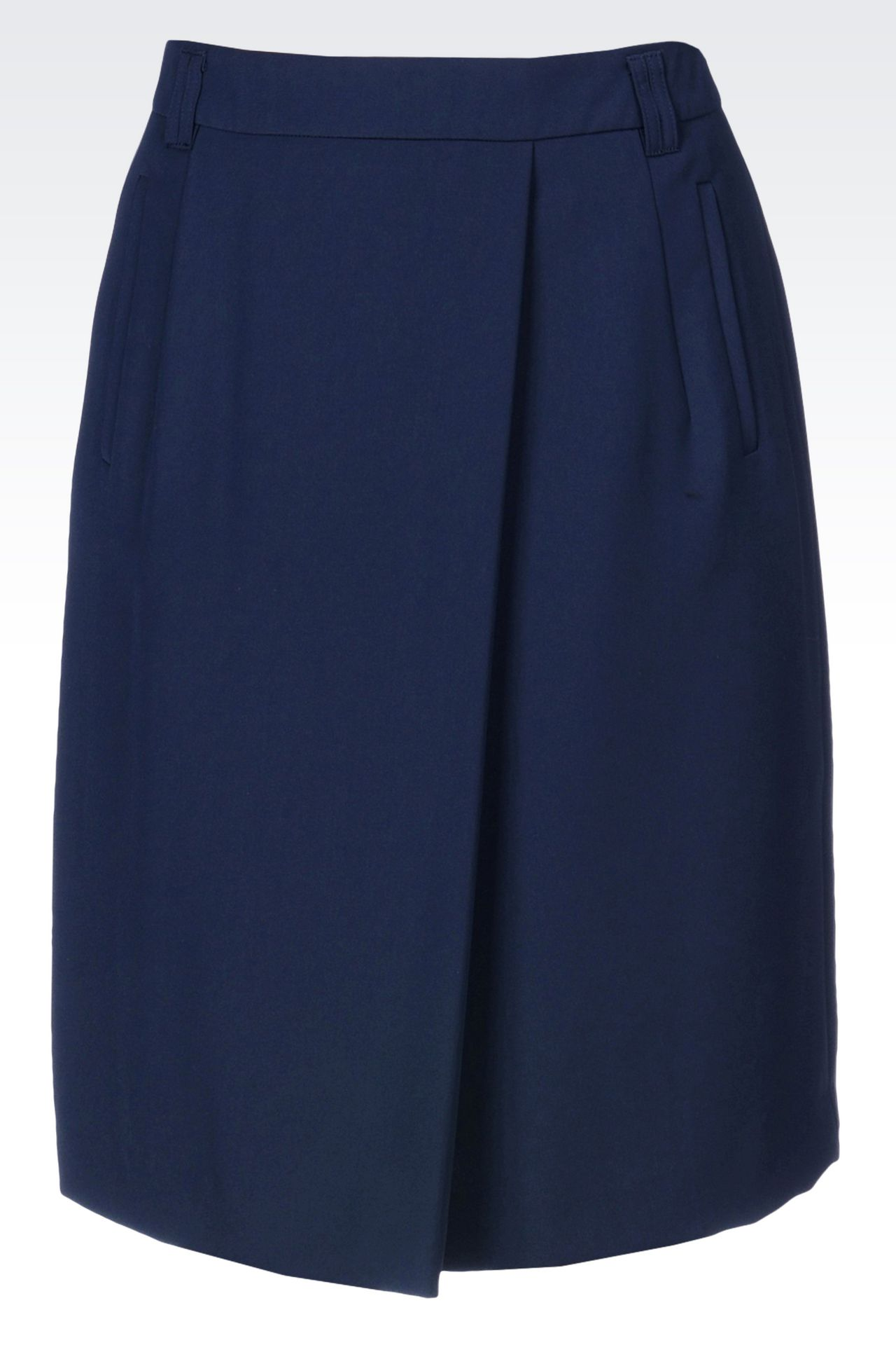 CADY SKIRT: Knee length skirts Women by Armani - 0