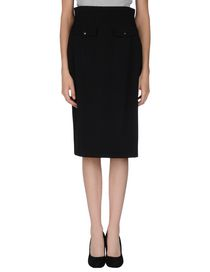 YVES SAINT LAURENT - Knee length skirt