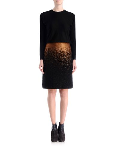 Wool Blend Degrade Skirt