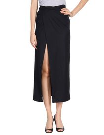 ANN DEMEULEMEESTER - Long skirt