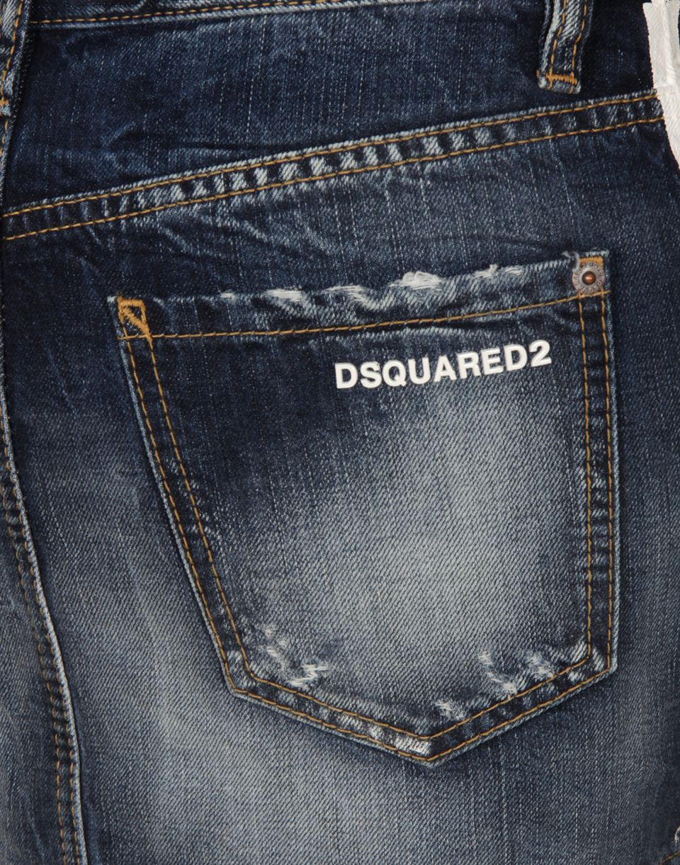 mini denim skirt skirts Woman Dsquared2