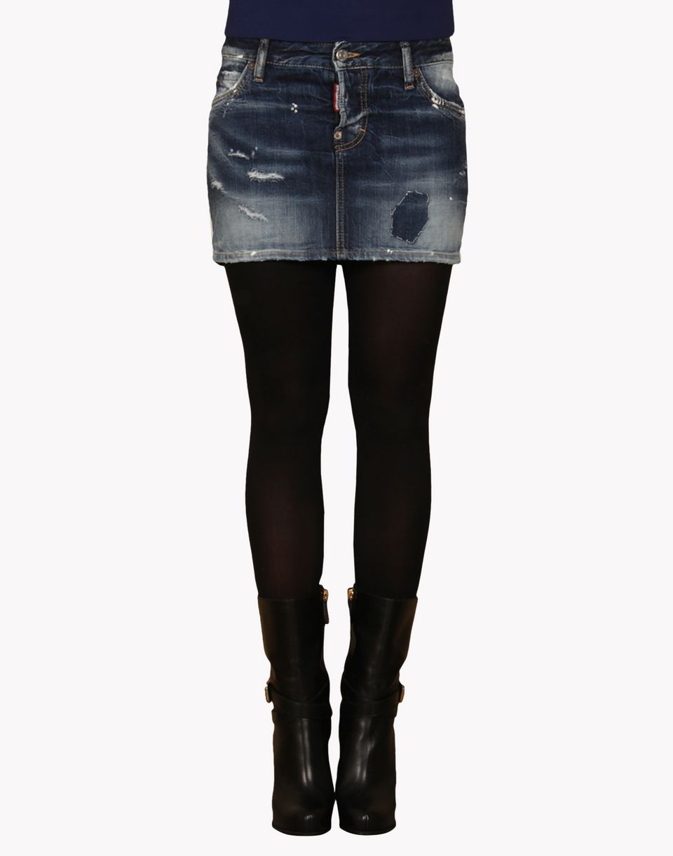 Dsquared2 Mini Denim Skirt, Mini Skirts Women - Dsquared2 Online Store