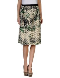 OSCAR DE LA RENTA - Knee length skirt