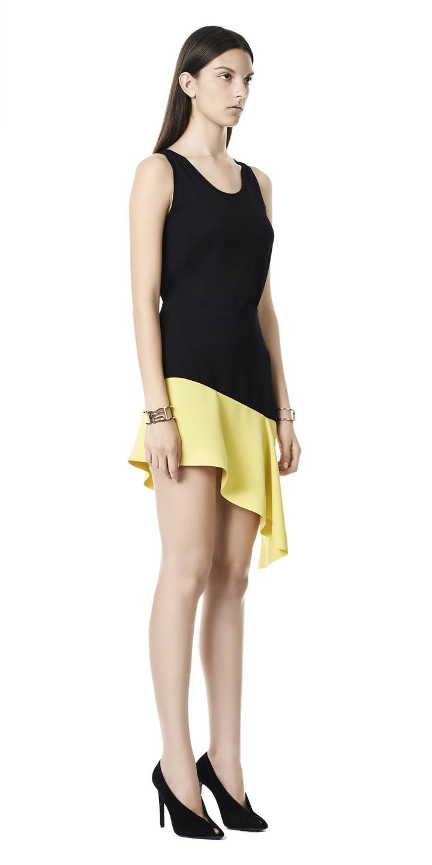 Balenciaga Frill Skirt