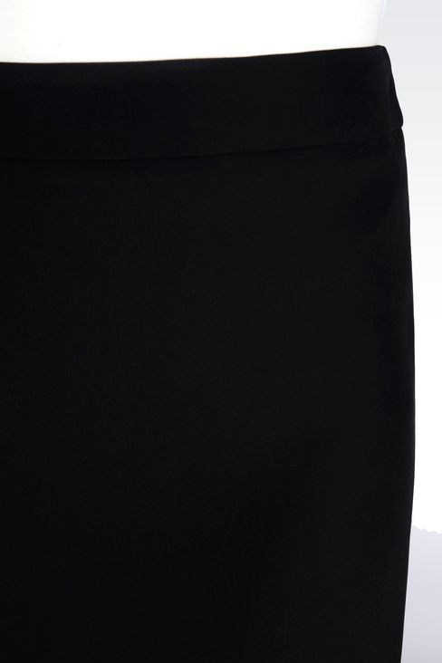 PENCIL SKIRT IN CADY: Knee length skirts Women by Armani - 5