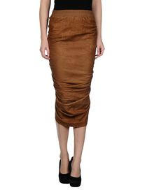 RICK OWENS - 3/4 length skirt