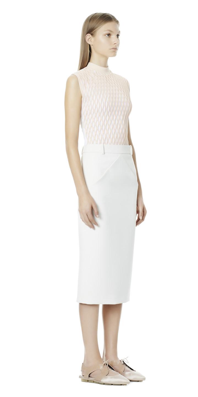 Balenciaga 'V' Line Skirt