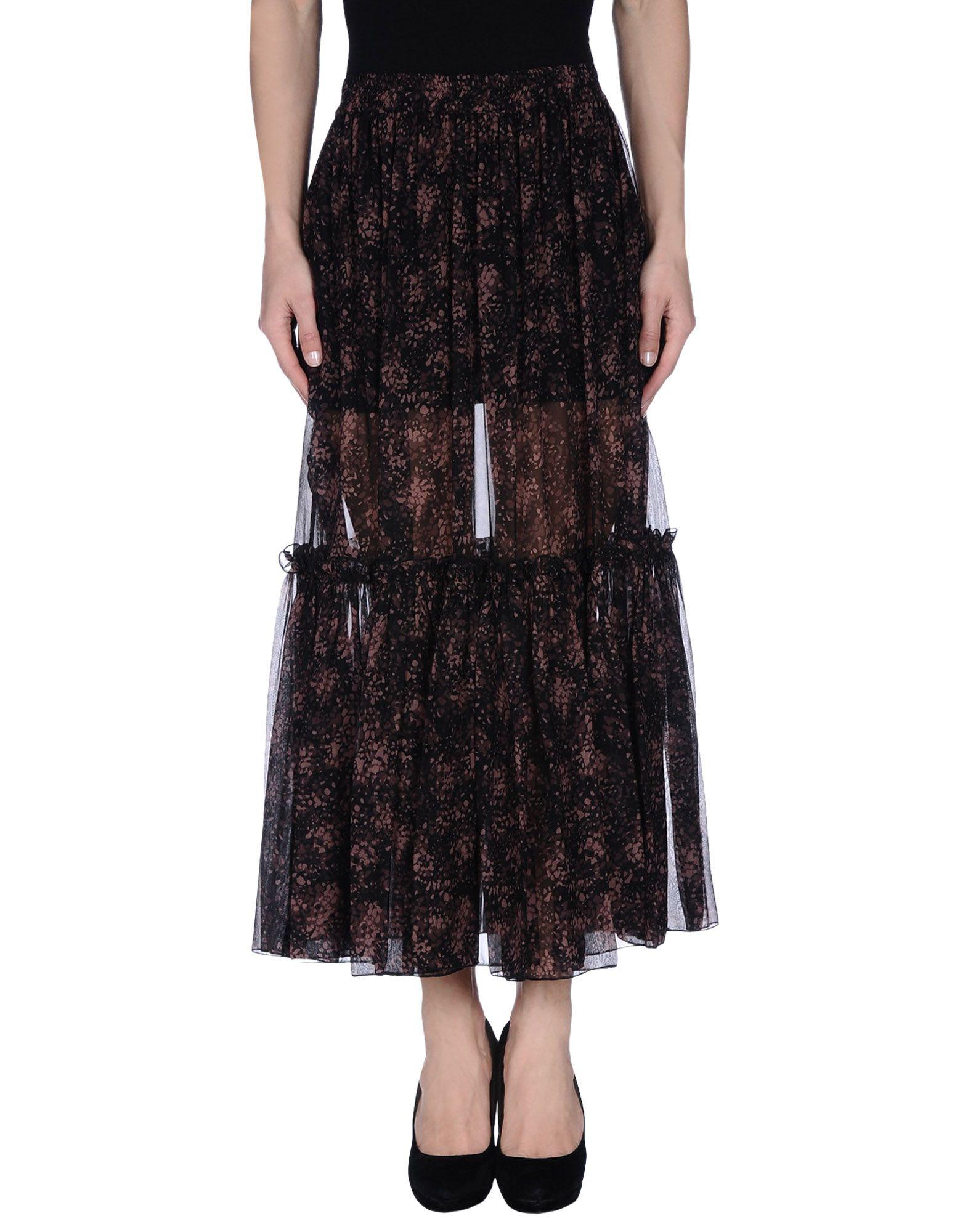 michael kors female michael kors 34 length skirts