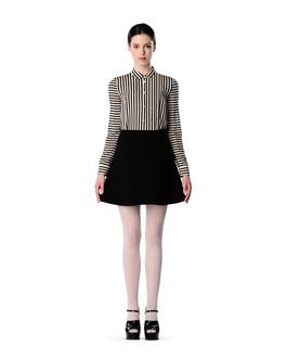 REDValentino Fused tech skirt