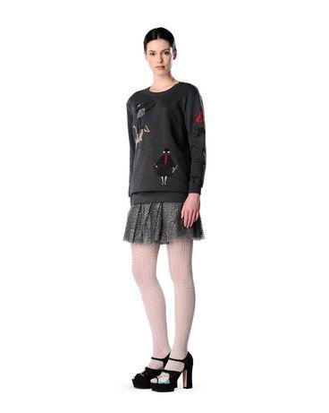 REDValentino JR0RA0U020G 080 Skirt Woman r