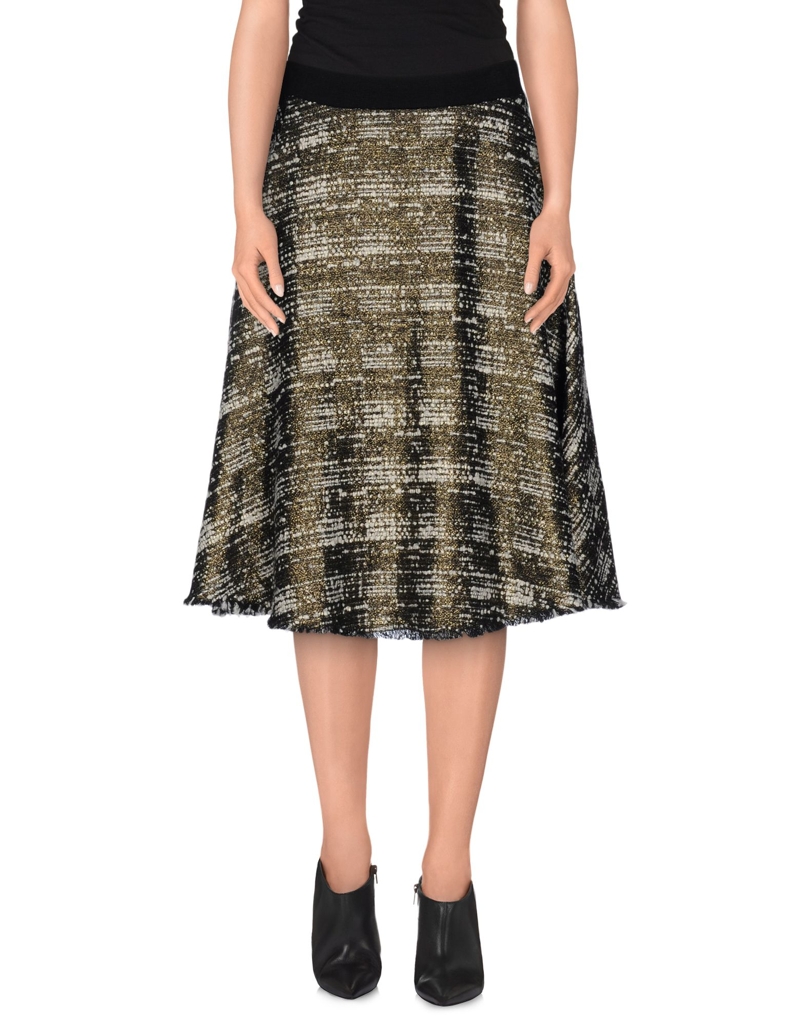 ANNIE P. Knee length skirts