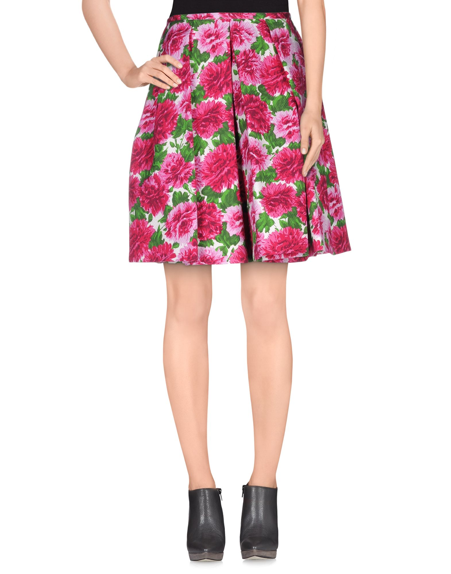michael kors female michael kors knee length skirts