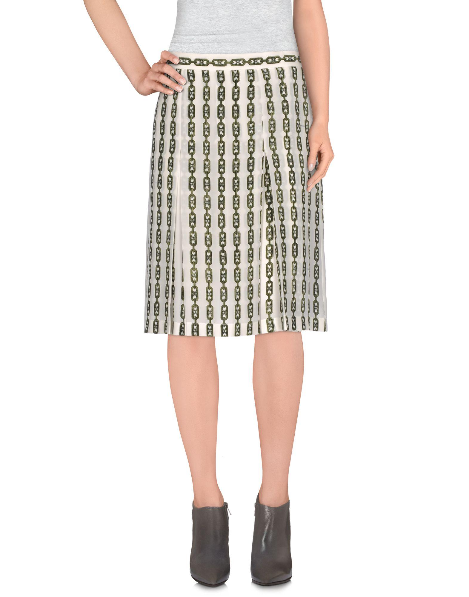 CÉLINE Knee length skirts
