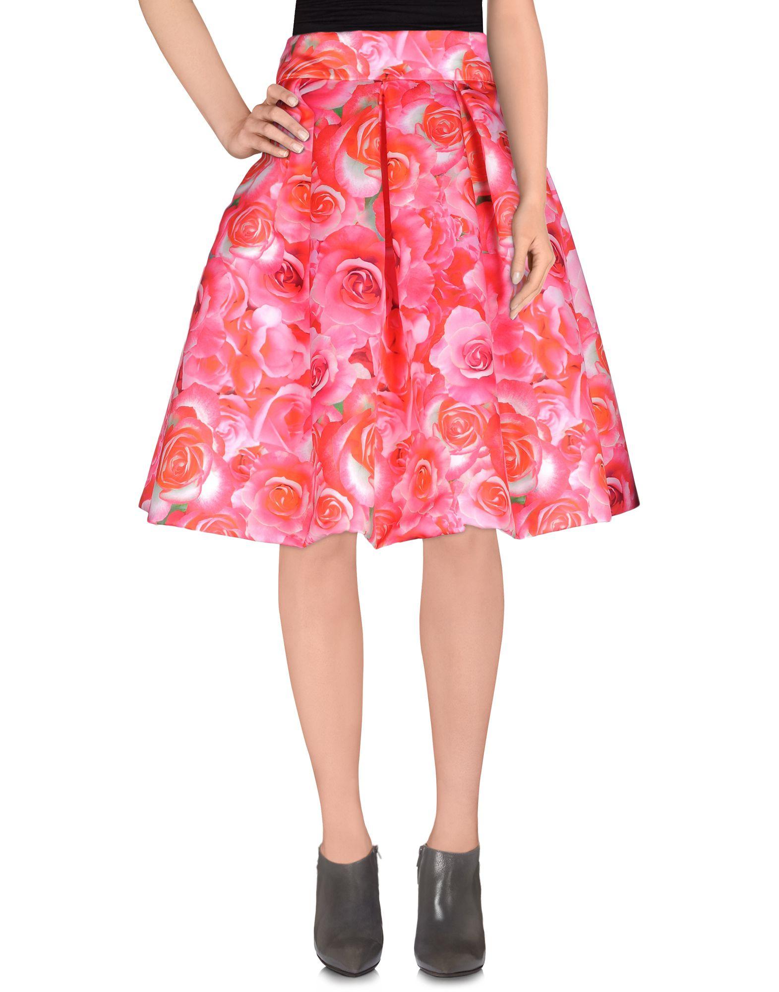 IO COUTURE Knee length skirts