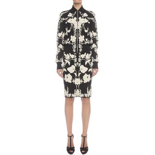 ALEXANDER MCQUEEN, Skirt, Belle Epoque Jacquard Knit Pencil Skirt