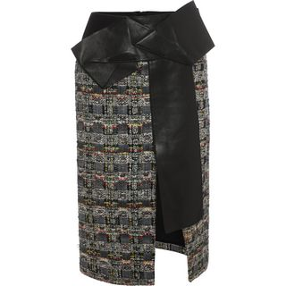 ALEXANDER MCQUEEN, Skirt, Leather Skirt