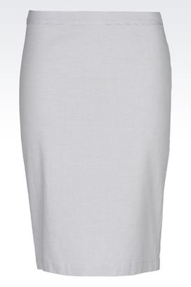 Armani Knee length skirts Women pencil skirt in cotton