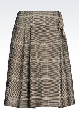 Armani Knee length skirts Women skirt in faille