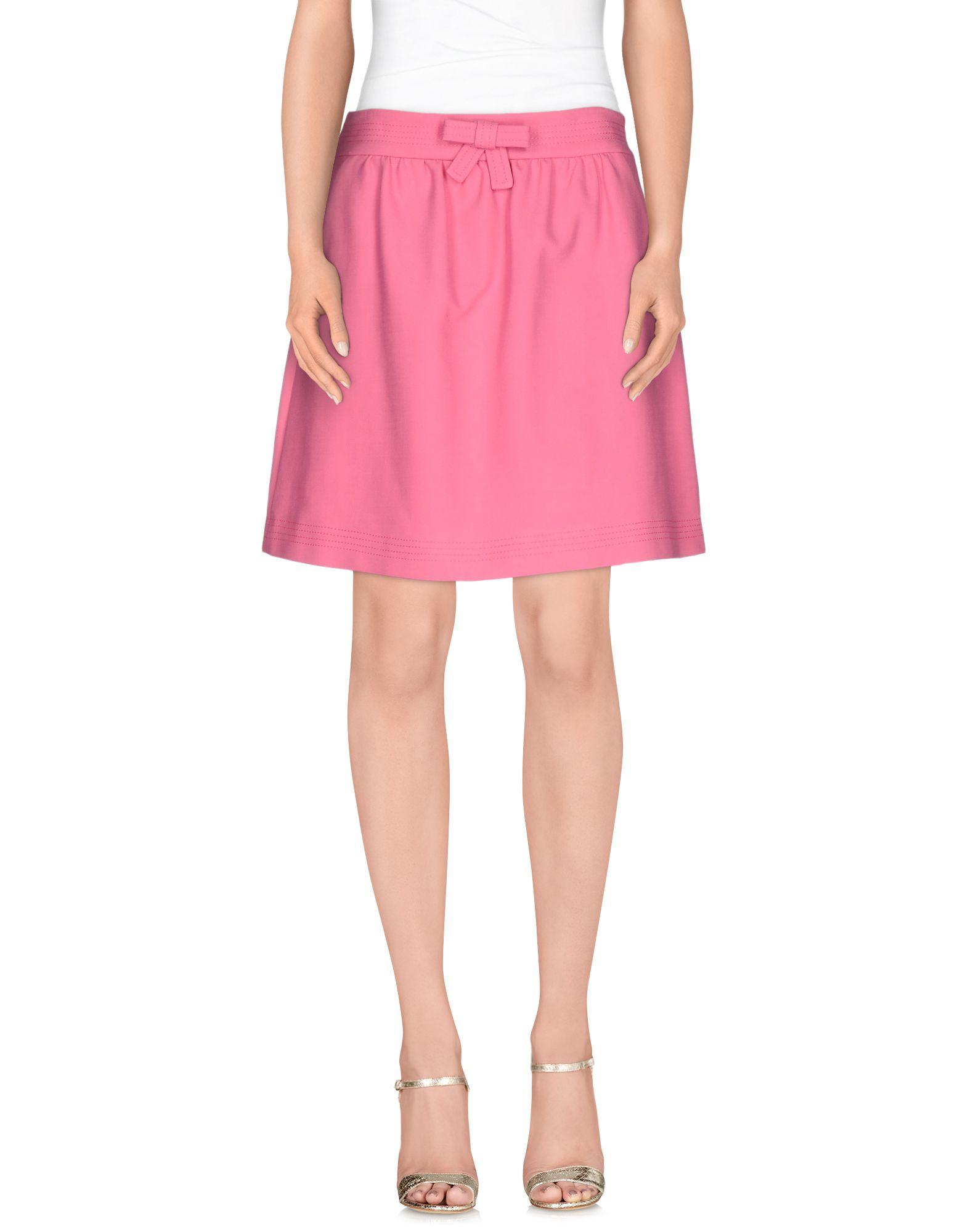 REDVALENTINO Knee length skirts