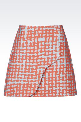 Armani Mini skirts Women skirt in jacquard
