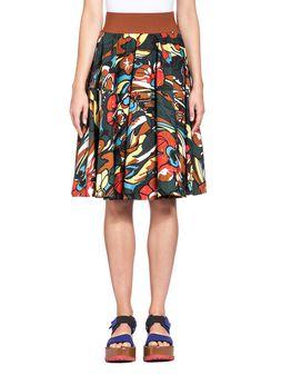 Marni Full skirt in poplin Woman