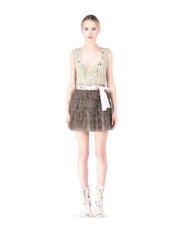 REDValentino KR0RA1901GK 435 Skirt Woman f
