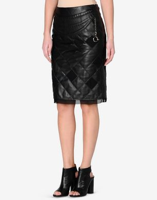 Maison Margiela Quilted sheepskin pencil skirt