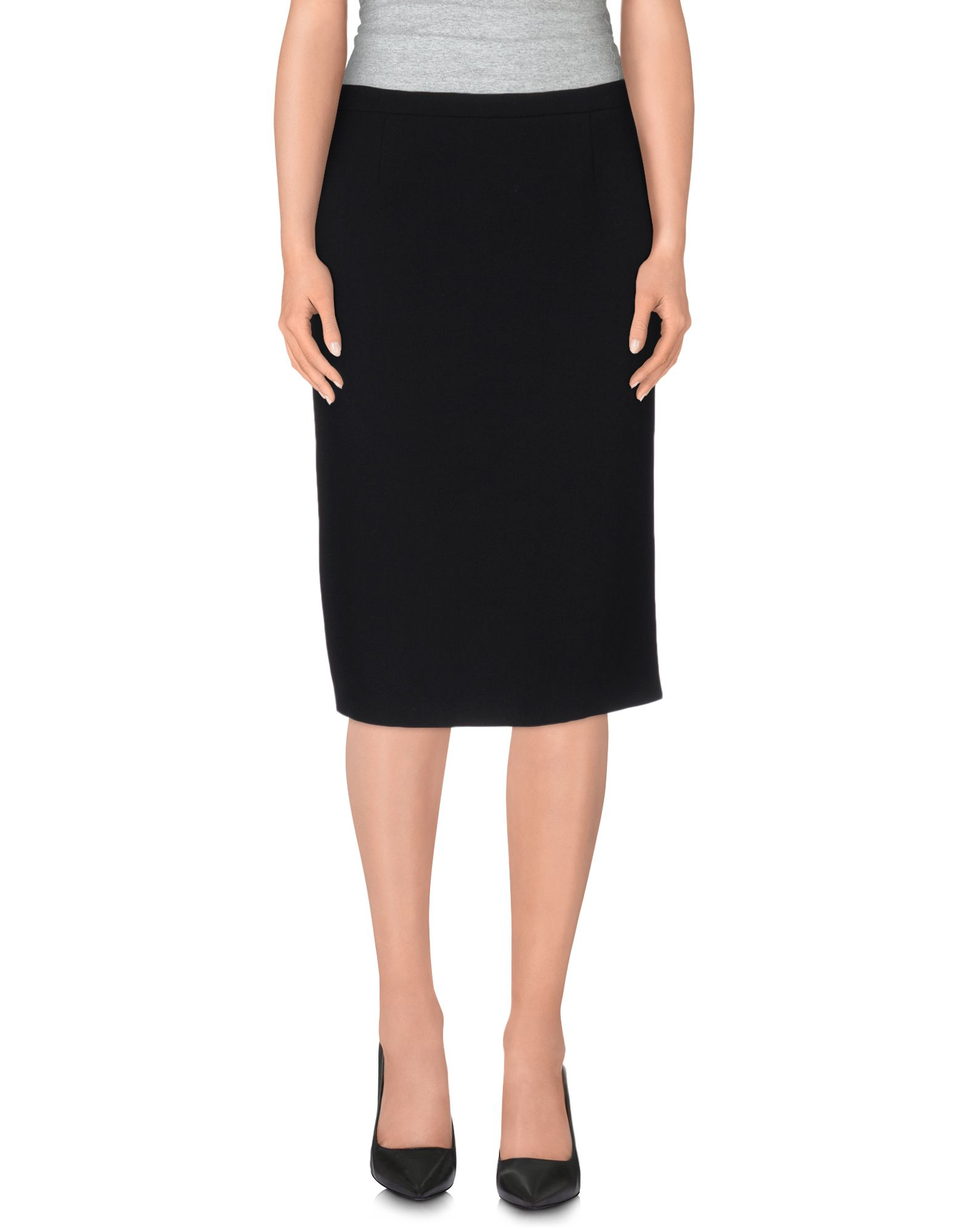 michael kors female  michael kors knee length skirts