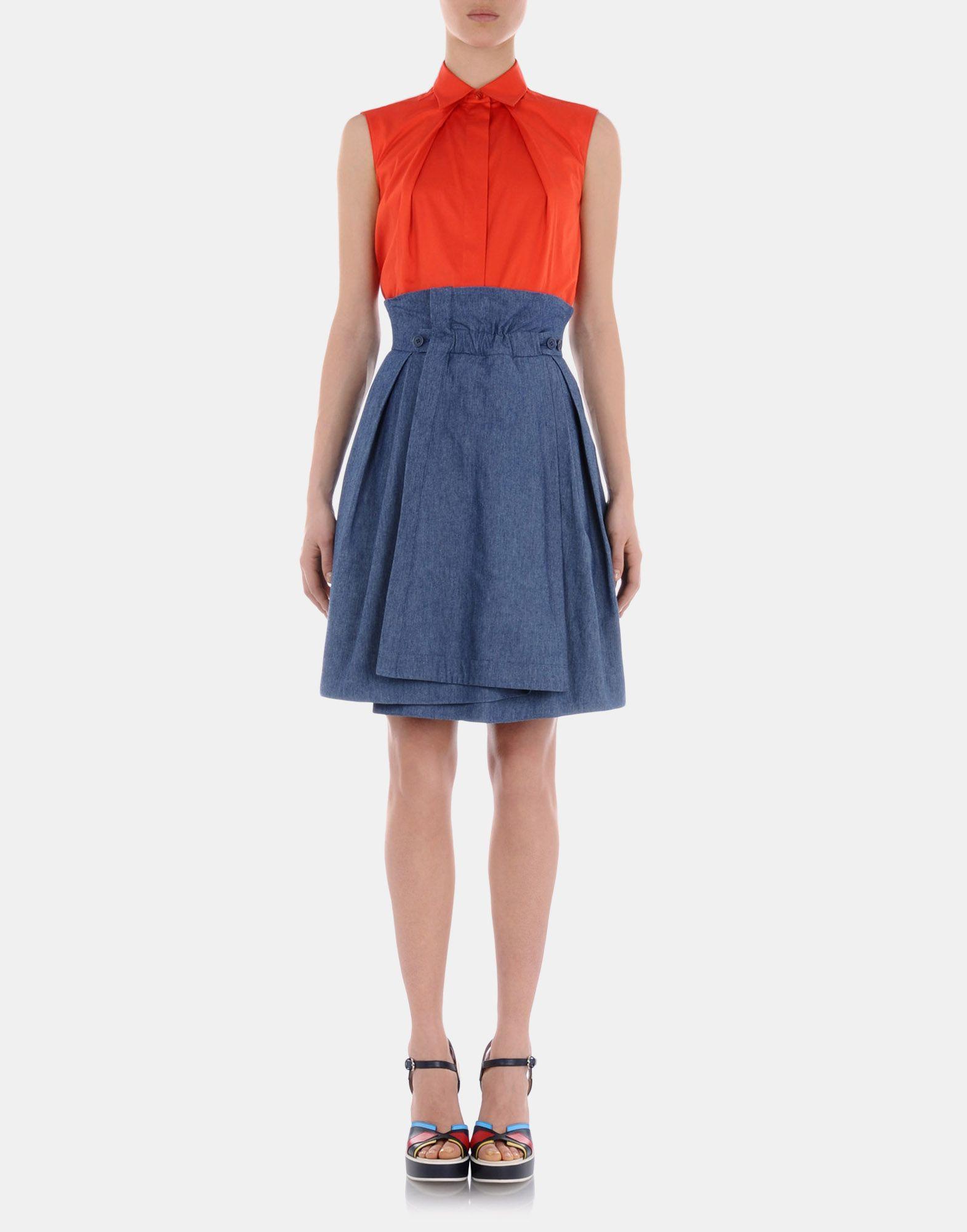 Denim skirt Women - Skirts Women on Jil Sander Online Store