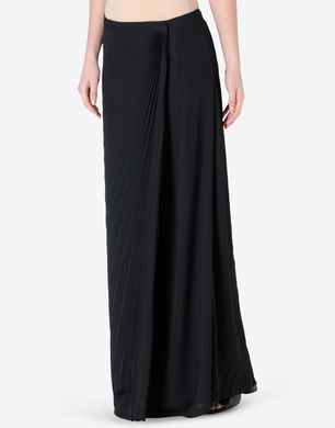 Maison Margiela Pleated full-length skirt