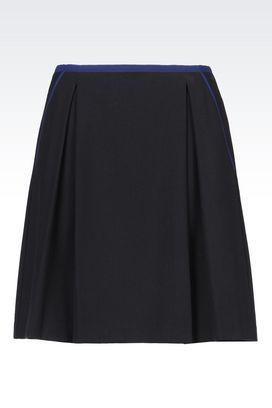 Armani Knee length skirts Women skirt in viscose blend
