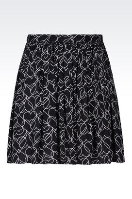 Armani Mini skirts Women viscose skirt