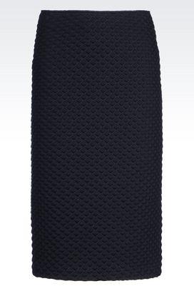 Armani Knee length skirts Women jersey skirt
