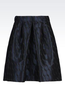 Armani Knee length skirts Women skirt in jacquard