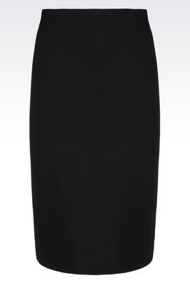 Armani 3/4 length skirts Women jersey skirt