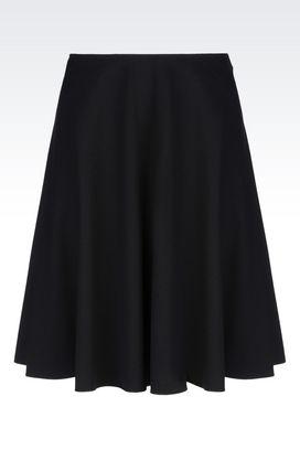 Armani Knee length skirts Women skirt in viscose blend