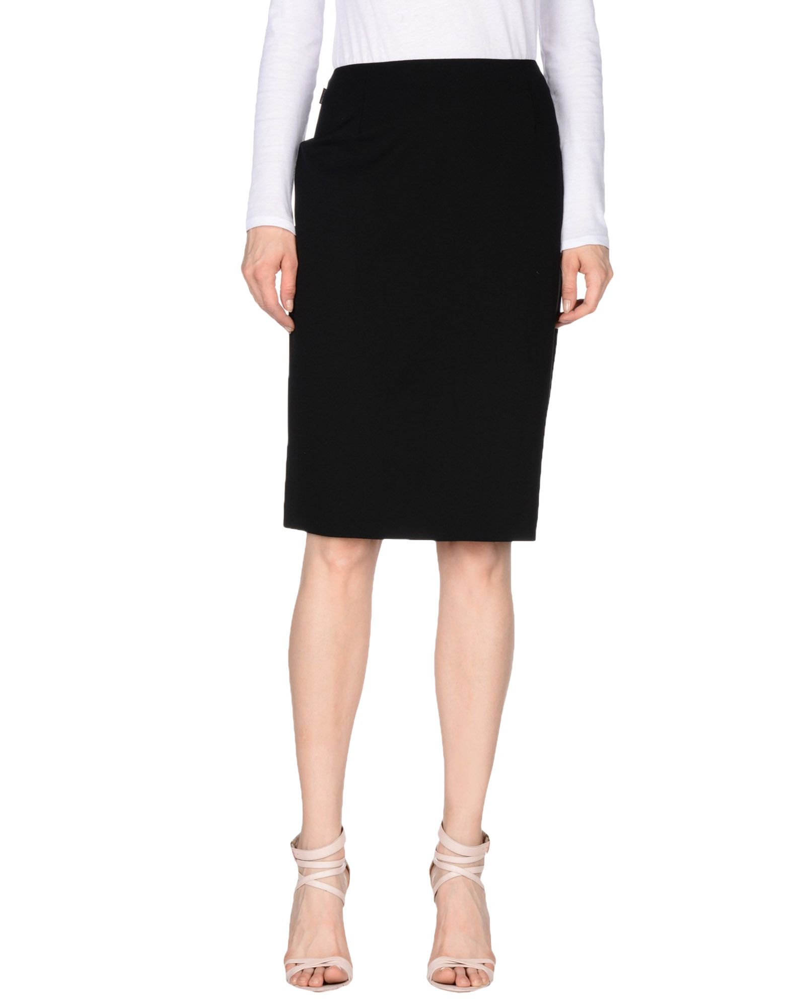 MOSCHINO JEANS Knee length skirts