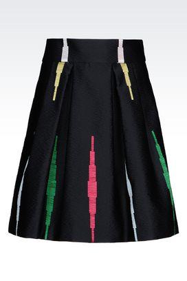 Armani Mini skirts Women skirt in jacquard