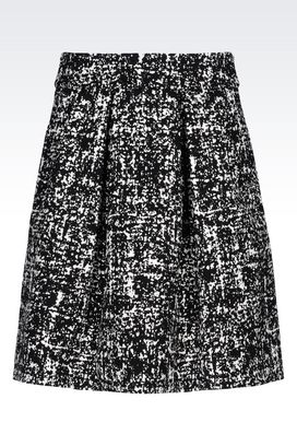 Armani Mini skirts Women skirt in stretch jacquard