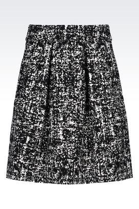 Armani Mini skirts Women skirt in stretch jacquard
