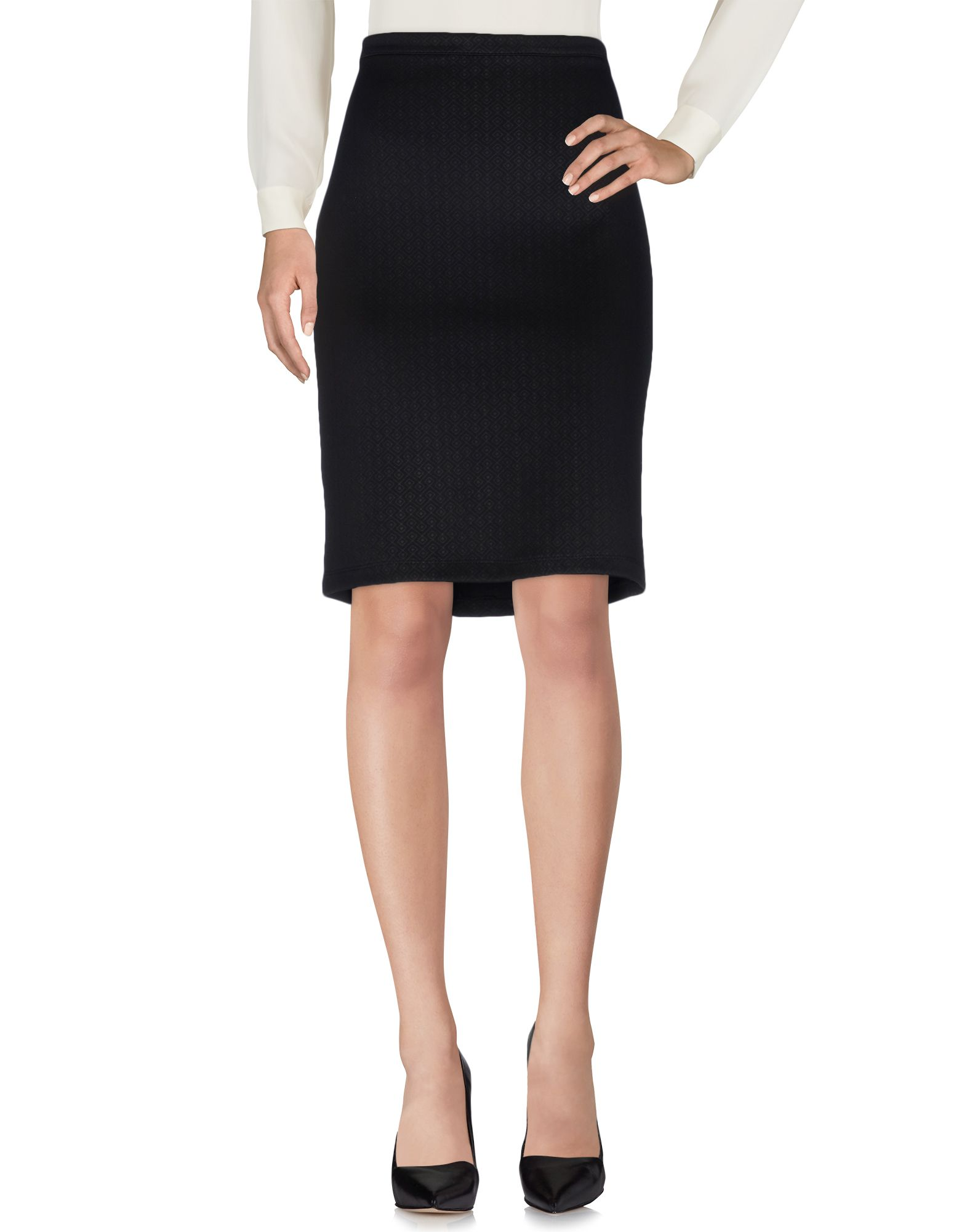 P.B. COLLECTION Knee length skirts